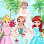 Flower Girls On Elsa's Wedding