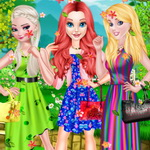 Princess Spring Fashion Color