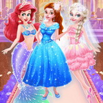 Princesses Different Style Wedding