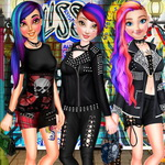 Punk Street Style Queens